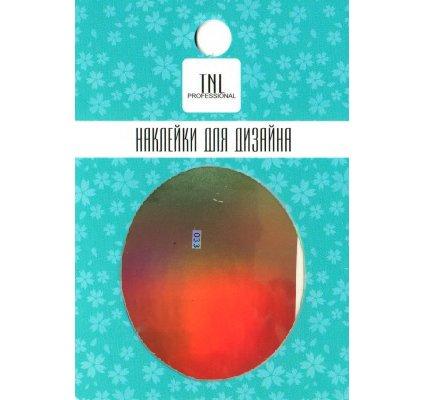 TNL, Наклейка-фольга для дизайна 033Наклейка-фольга для дизайна TNL<br>Наклейка-фольга для дизайна<br>