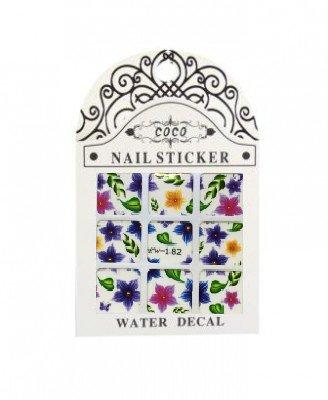 Coco, Nail Sticker - Слайдер-дизайн LW-182Слайдер-дизайн Coco<br>Слайдер-дизайн<br>