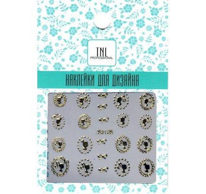 TNL, Наклейки для дизайна SA135Наклейки для дизайна ногтей<br>Наклейки для дизайна<br>
