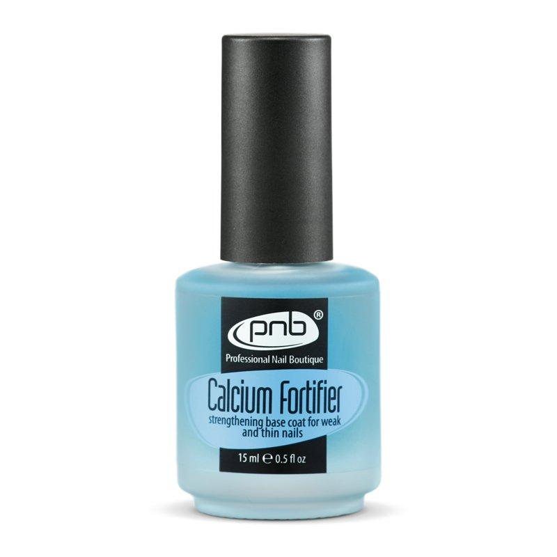 PNB, Calcium Fortifier - Средство для укрепления слабых и тонких ногтейЛечебные и укрепляющие средства PNB<br>Укрепитель с кальцием.<br>