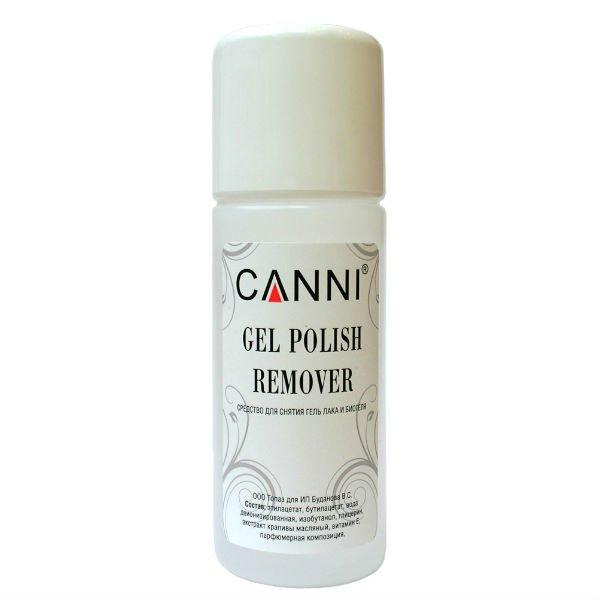 Canni, Gel Polish Remover - Жидкость для снятия гель - лака (100 мл.) (CANNI)