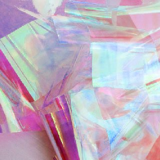 NelTes, Фольга - Битое стекло (бело-розовое)Битое стекло<br>Фольга для создания эффекта битое стекло или стеклянные ногти<br>