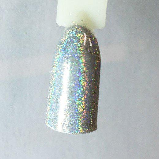 NelTes, Зеркальная втирка для ногтей (голографик)Зеркальная втирка<br>Зеркальная втирка для ногтей, цвет серебряный голографик (0.5г)<br>
