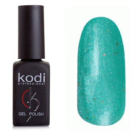 Kodi, Гель-лак № 207 (7ml)Kodi Professional <br>Гель-лак бирюзовый с перламутром и микроблестками, плотный,7мл.<br>