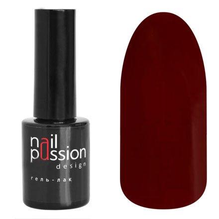 Nail Passion, Гель-лак - Марсала 1104 (10 мл.)Nail Passion<br>Гель-лак,малиново-бордовый, эмалевый, плотный<br>