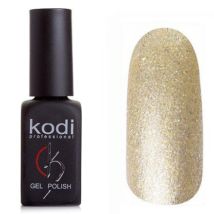 Kodi, Гель-лак № 209 (8ml)Kodi Professional <br>Гель-лак золотой с серебряными блестками, плотный, 8мл.<br>