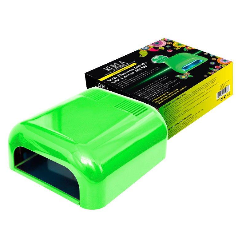 JessNail, KUKLA УФ лампа 36 Вт (салатовая, глянцевая)УФ-Лампы<br>Профессиональная ультрафиолетовая лампа мощностью 36 Ватт.<br>
