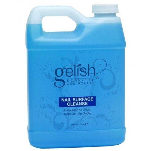 Harmony Gelish, Жидкость для удаления липкого слоя 960млHarmony Gelish<br>Nail surface cleanse. Жидкость для снятия липкого слоя и подготовки ногтевой пластиныВыгодный объем (960мл)<br>