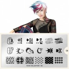 Пластина MoYou London Punk 08
