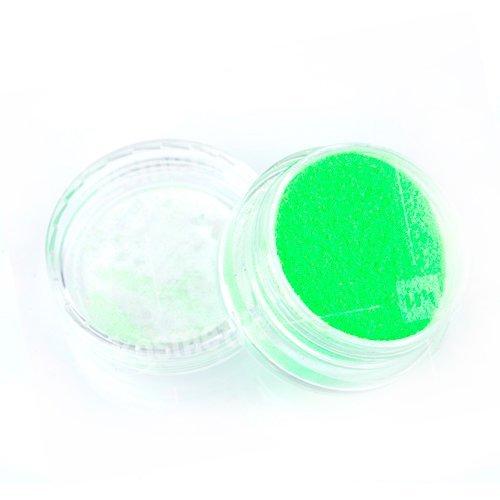 NelTes, Зеркальный блеск (Зеленый неон, мелкий помол)Зеркальная втирка<br>Глиттерная втирка<br>