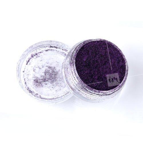 NelTes, Зеркальный блеск (Темно-фиолетовый, мелкий помол)Зеркальная втирка<br>Глиттерная втирка<br>