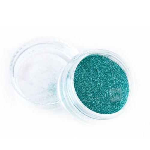 NelTes, Зеркальный блеск (Сине-зеленый АВ, мелкий помол)Зеркальная втирка<br>Глиттерная втирка<br>