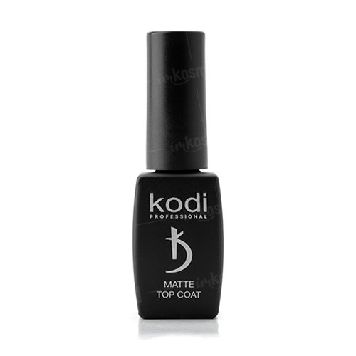 Kodi, Matte Top (8ml)Kodi Professional <br>Матовый топ для гель лака, 8 мл.<br>