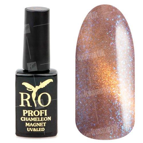 Rio Profi, Гель-лак - Сияющий Магнитный Кошачий глаз №18 (7мл.) (RIO Profi (Россия))