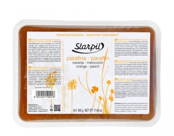 Starpil, Парафин (Апельсин и персик, 500 гр.)Парафин<br>Парафин с ароматом свежих фруктов, идеально подходящий для сухой кожи, склонной к шелушению, а также для зрелой кожи.<br>