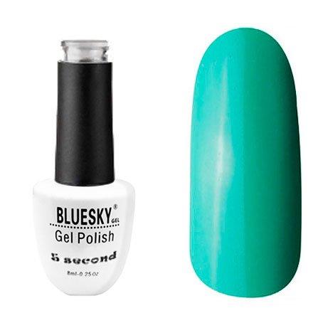 Bluesky, Гель-лак - 5 Second №28 (8 мл.)Bluesky 8 мл<br>Гель-лак, зелено-бирюзовый, плотный.<br>