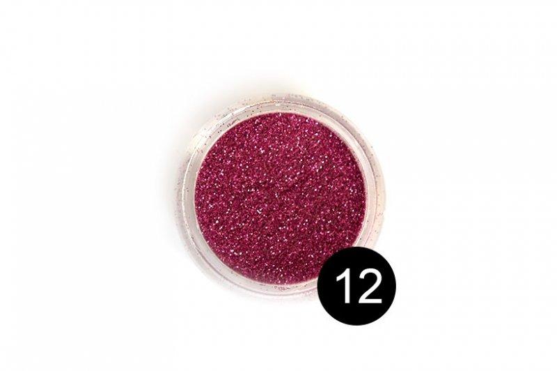 TNL, Блестки в банке №12Блестки<br>Блестки для дизайна ногтей, малиновый<br>