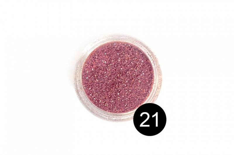 TNL, Блестки в банке №21Блестки<br>Блестки для дизайна ногтей, розовый металлик<br>