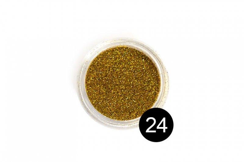 TNL, Блестки в банке №24Блестки<br>Блестки для дизайна ногтей, золотой голографик<br>