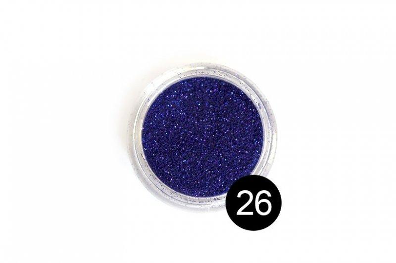 TNL, Блестки в банке №26Блестки<br>Блестки для дизайна ногтей, фиолетовый<br>
