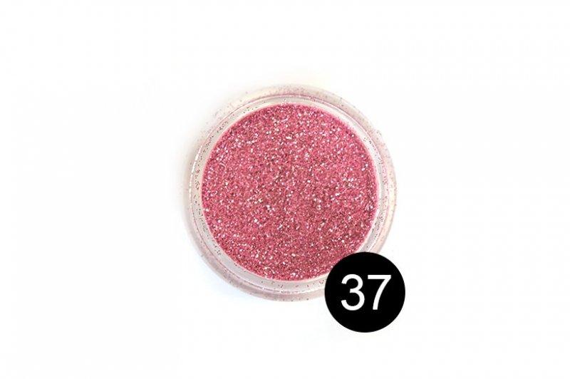 TNL, Блестки в банке №37Блестки<br>Блестки для дизайна ногтей, розовый металлик<br>