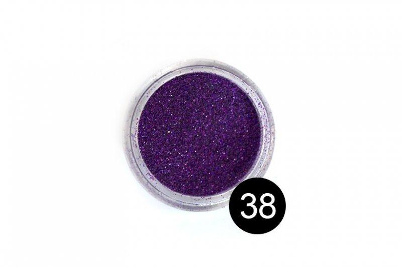 TNL, Блестки в банке №38Блестки<br>Блестки для дизайна ногтей, фиолетово-малиновый<br>