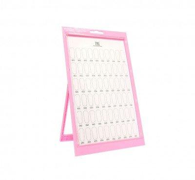 TNL, Тейбл тенд - розовый (60 шт.)Подставки, дисплеи<br>Тейбл тенд - розовый<br>