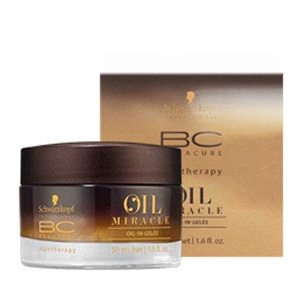 Schwarzkopf, Масло-желе для волос Bonacure Oil Miracle Oil (50 мл.)Масло для волос<br>Масло-желе для волос ВС глубоко питает волосы придавая им зеркальный блеск, мягкость при этом не перегружая.<br>