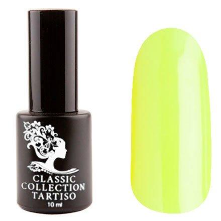 Tartiso, Гель-лак - Classic TCL-19 (10 мл.)Tartiso <br>Гель-лак, салатово-желтый, неоновый, глянцевый, полупрозрачный<br>