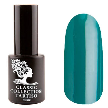 Tartiso, Гель-лак - Classic TCL-23 (10 мл.)Tartiso <br>Гель-лак, темный изумрудный, глянцевый, плотный<br>