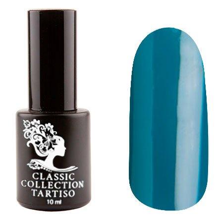 Tartiso, Гель-лак - Classic TCL-24 (10 мл.)Tartiso <br>Гель-лак, сине-бирюзовый, глянцевый, плотный<br>