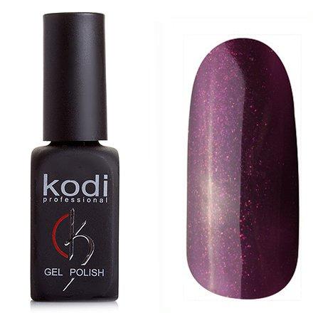 Kodi, Гель-лак № 213 (8ml)Kodi Professional <br>Гель-лак темно-слиловый с блестками, плотный, 8мл.<br>