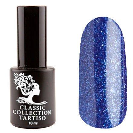 Tartiso, Гель-лак - Classic TCL-30 (10 мл.)Tartiso <br>Гель-лак, синий, глянцевый, с блестками, плотный<br>