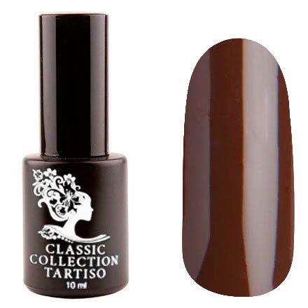 Tartiso, Гель-лак - Classic TCL-36 (10 мл.)Tartiso <br>Гель-лак, коричневый, глянцевый, плотный<br>