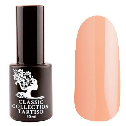 Tartiso, Гель-лак - Classic TCL-39 (10 мл.)Tartiso <br>Гель-лак, оранжево-бежевый, глянцевый, полупрозрачный<br>