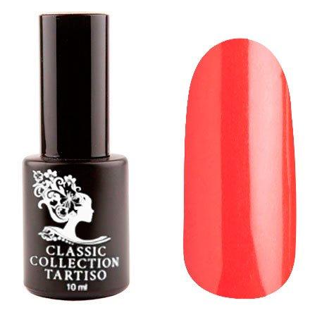 Tartiso, Гель-лак - Classic TCL-42 (10 мл.)Tartiso <br>Гель-лак, красный, глянцевый, с едва уловимыммалиновым шиммером, плотный<br>