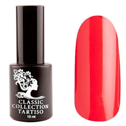 Tartiso, Гель-лак - Classic TCL-44 (10 мл.)Tartiso <br>Гель-лак, красный, глянцевый, плотный<br>