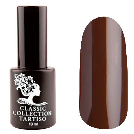 Tartiso, Гель-лак - Classic TCL-48 (10 мл.)Tartiso <br>Гель-лак, шоколад, глянцевый, плотный<br>