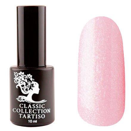 Tartiso, Гель-лак - Classic TCL-50 (10 мл.)Tartiso <br>Гель-лак, светло-розовый, с микроблестками, полупрозрачный<br>