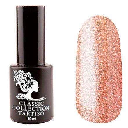 Tartiso, Гель-лак - Classic TCL-53 (10 мл.)Tartiso <br>Гель-лак, песочно-розовый, с микроблестками, плотный<br>