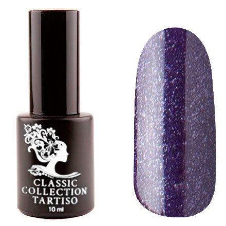 Tartiso, Гель-лак - Classic TCL-56 (10 мл.)Tartiso <br>Гель-лак, темный фиолетовый, с микроблестками, плотный<br>