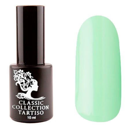 Tartiso, Гель-лак - Classic TCL-58 (10 мл.)Tartiso <br>Гель-лак, светло-зеленый, плотный<br>