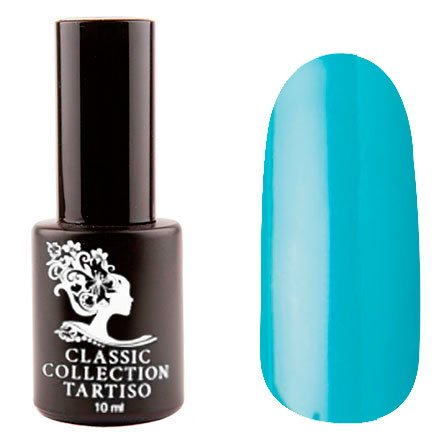 Tartiso, Гель-лак - Classic TCL-60 (10 мл.)Tartiso <br>Гель-лак, зелено-голубой, плотный<br>