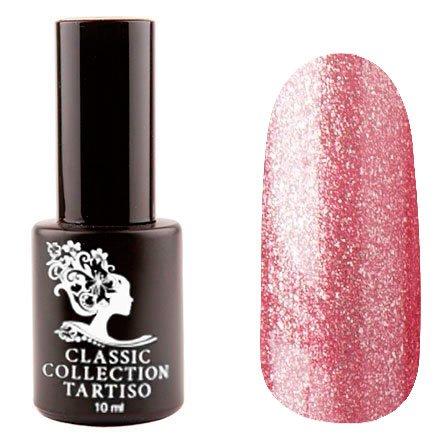 Tartiso, Гель-лак - Classic TCL-64 (10 мл.)Tartiso <br>Гель-лак, розовая бронза, с блестками, плотный<br>