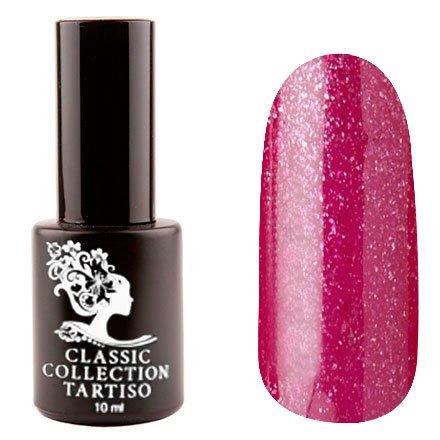 Tartiso, Гель-лак - Classic TCL-66 (10 мл.)Tartiso <br>Гель-лак, пурпурно-малиновый, с блестками, плотный<br>