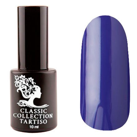 Tartiso, Гель-лак - Classic TCL-80 (10 мл.)Tartiso <br>Гель-лак, фиолетовый, глянцевый, плотный<br>