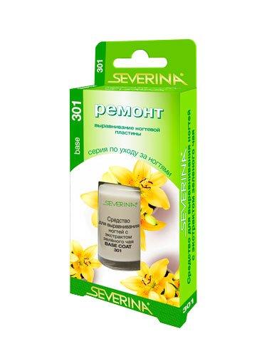 Severina, Средство для выравнивания ногтей с экстрактом зеленого чая (11 мл.)