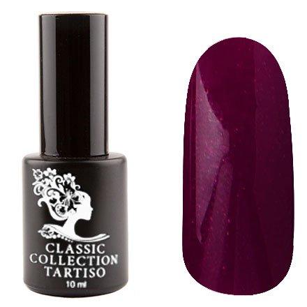 Tartiso, Гель-лак - Classic TCL-93 (10 мл.)Tartiso <br>Гель-лак, пурпурный, с блестками, плотный<br>