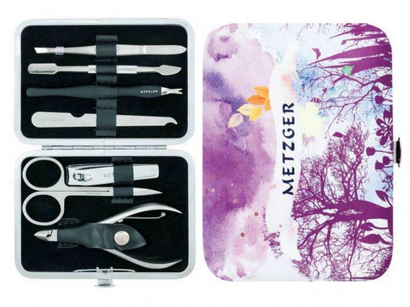 Metzger, Маникюрный набор - Осень MS-2957(5)-Big (7 предметов)Инструменты для педикюра<br>Маникюрный набор (7 предметов).<br>