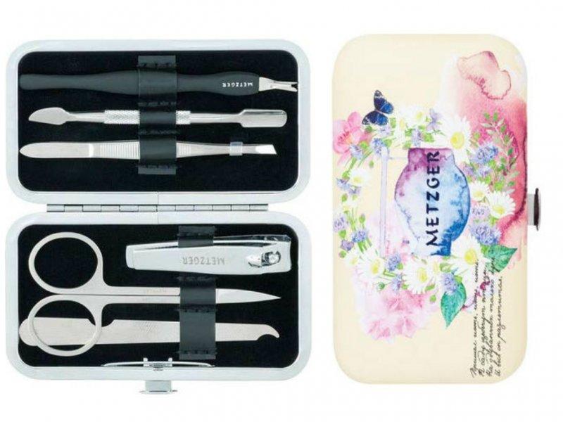 Metzger, Маникюрный набор - Лето MS-3957(1)-Small (6 предметов)Инструменты для педикюра<br>Маникюрный набор (6 предметов).<br>